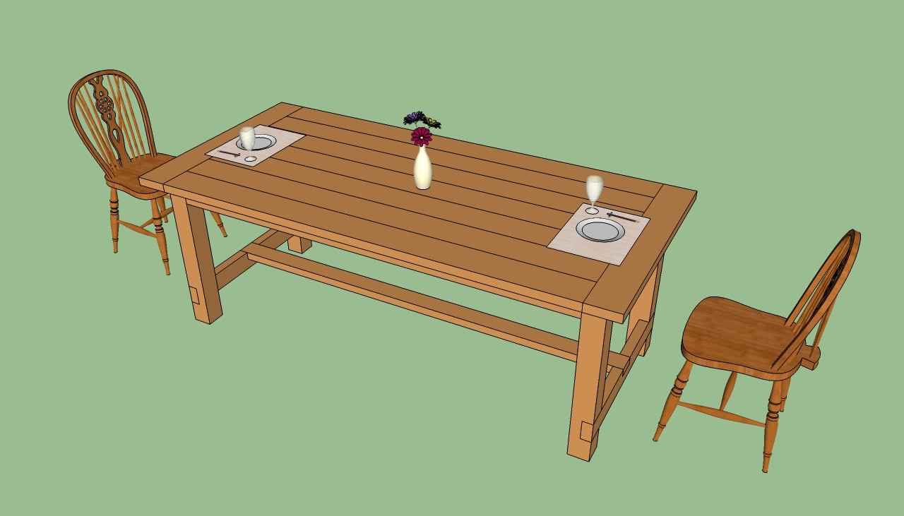 How to Build Dining Table