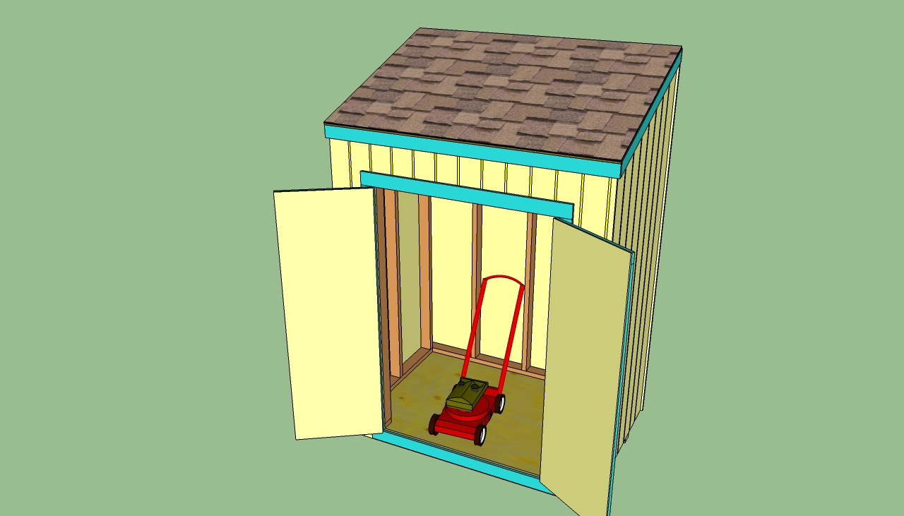 Building a Lean to Shed Plans