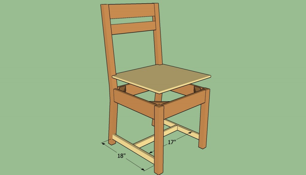 Attaching the chair braces
