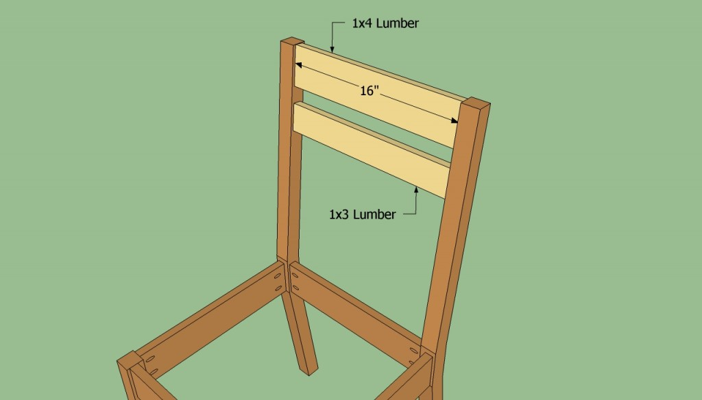 simple wooden chair. Back Support Plans Simple Wooden Chair