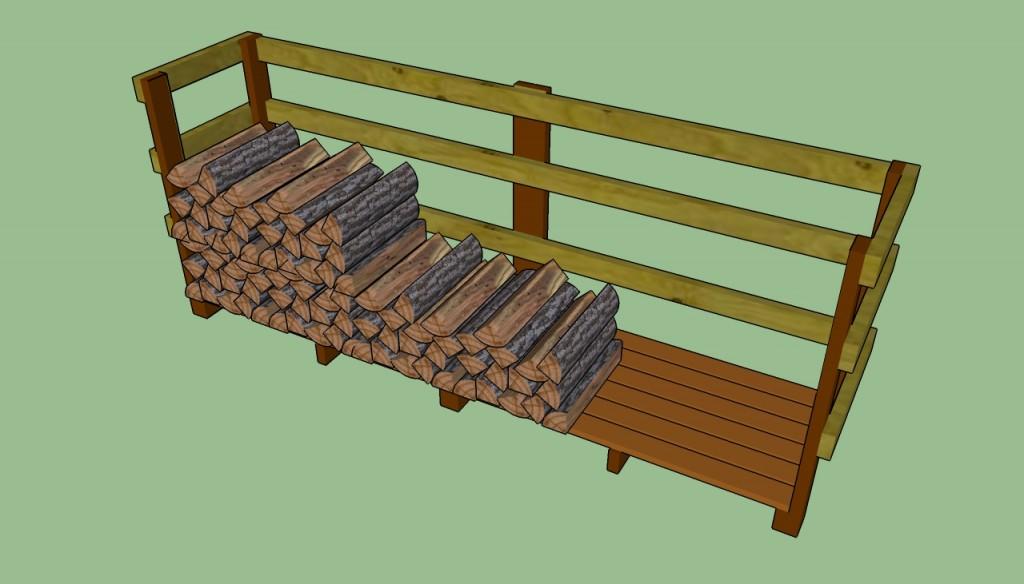 Basic wood shed