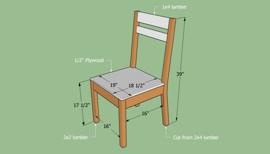 Building a simple chair