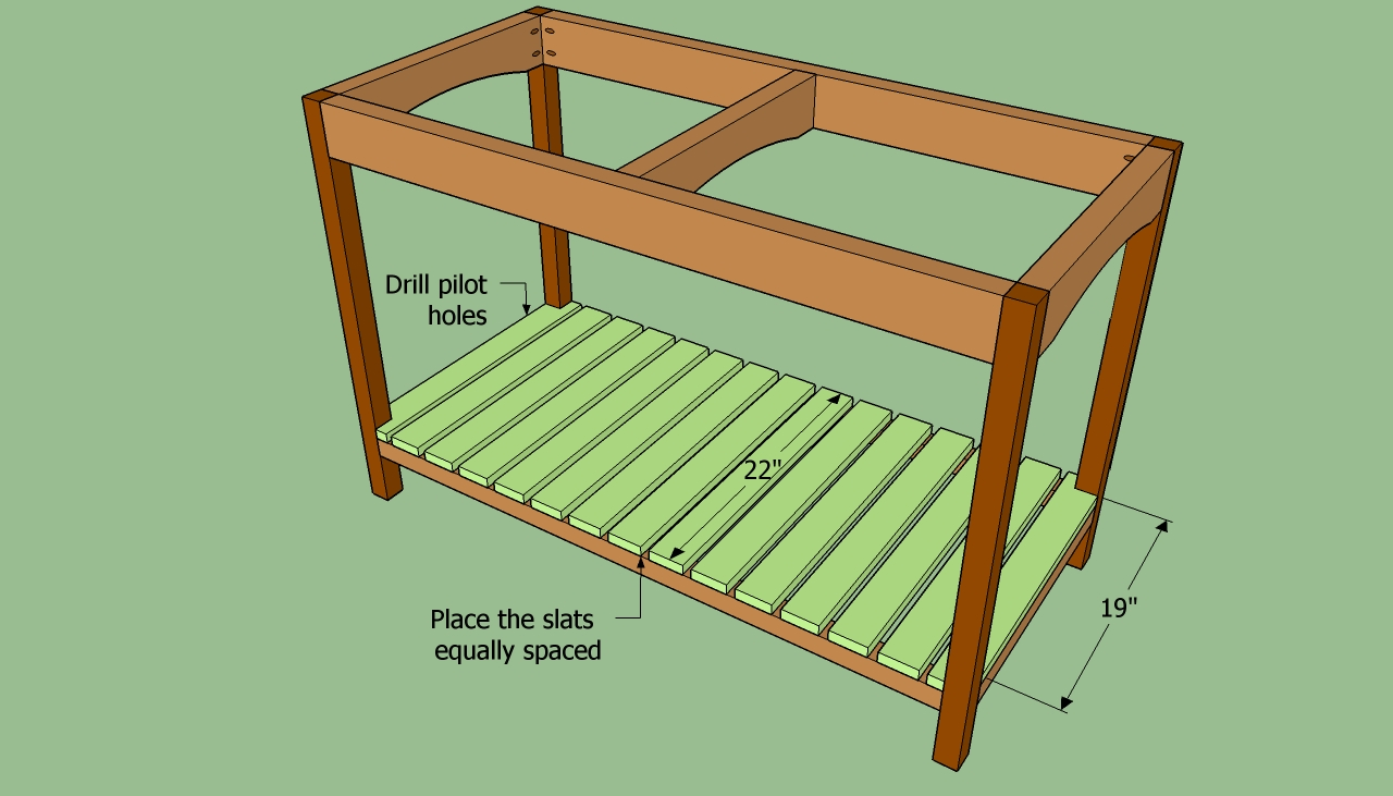 how to build wooden shelf supports