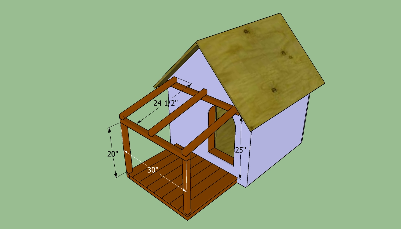 How to build an insulated dog house howtospecialist for Step by step in building a house