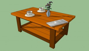 How to build a cafee table