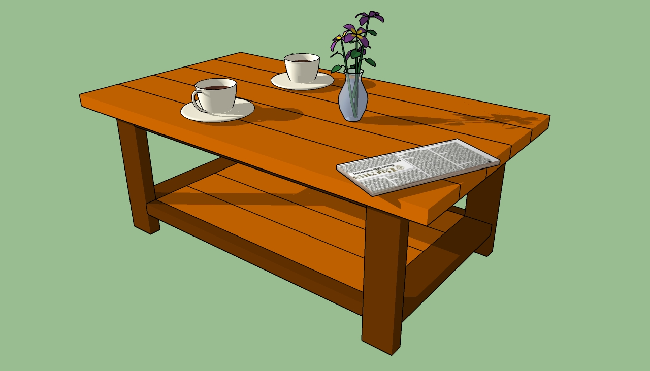Pdf diy do it yourself coffee table plans download for Wood coffee table kits