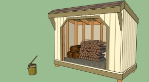 Large Firewood Storage Shed Plans