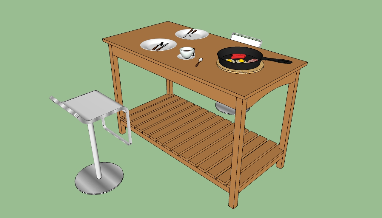 How To Build How To Build Wood Kitchen Island Pdf Plans