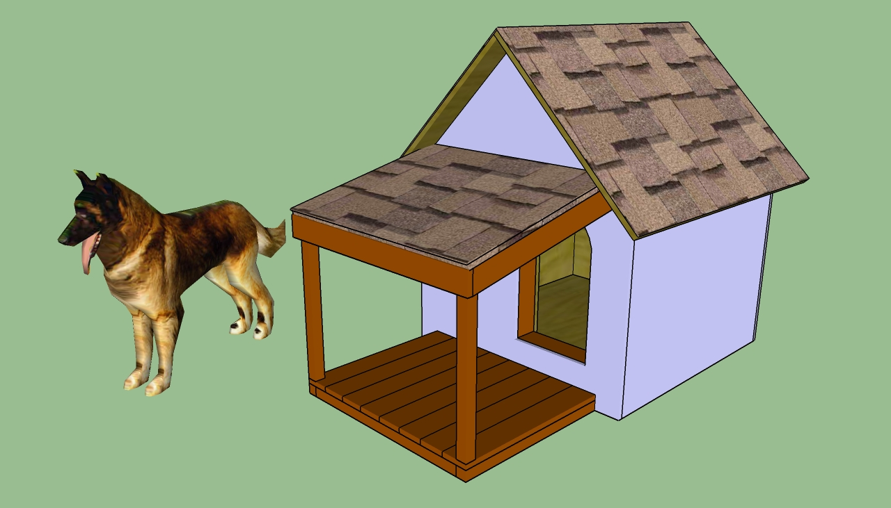 How to build an insulated dog house for How to frame a house step by step