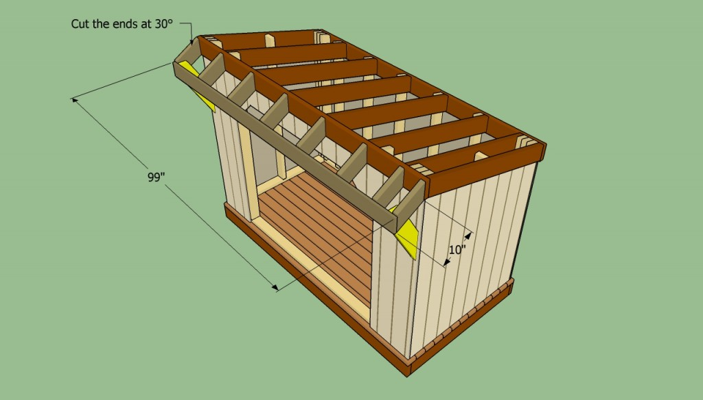 How To Build A Firewood Shed Howtospecialist How To