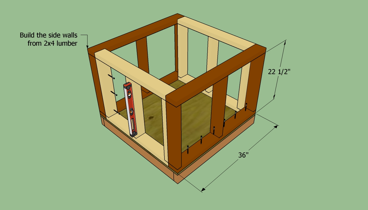 Insulated dog house howtospecialist how to build step by step diy