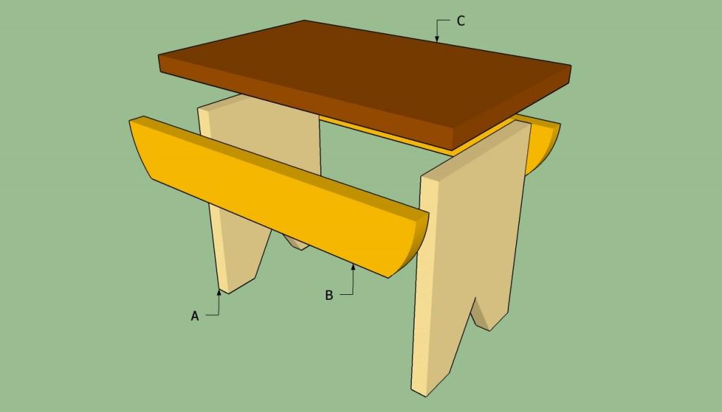 Building a stool plans