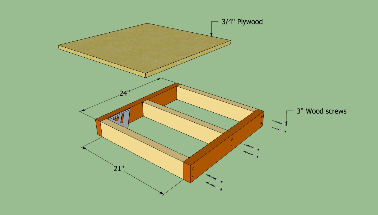 Free plans to make a dog house garage kits wood siding for Building a house step by step