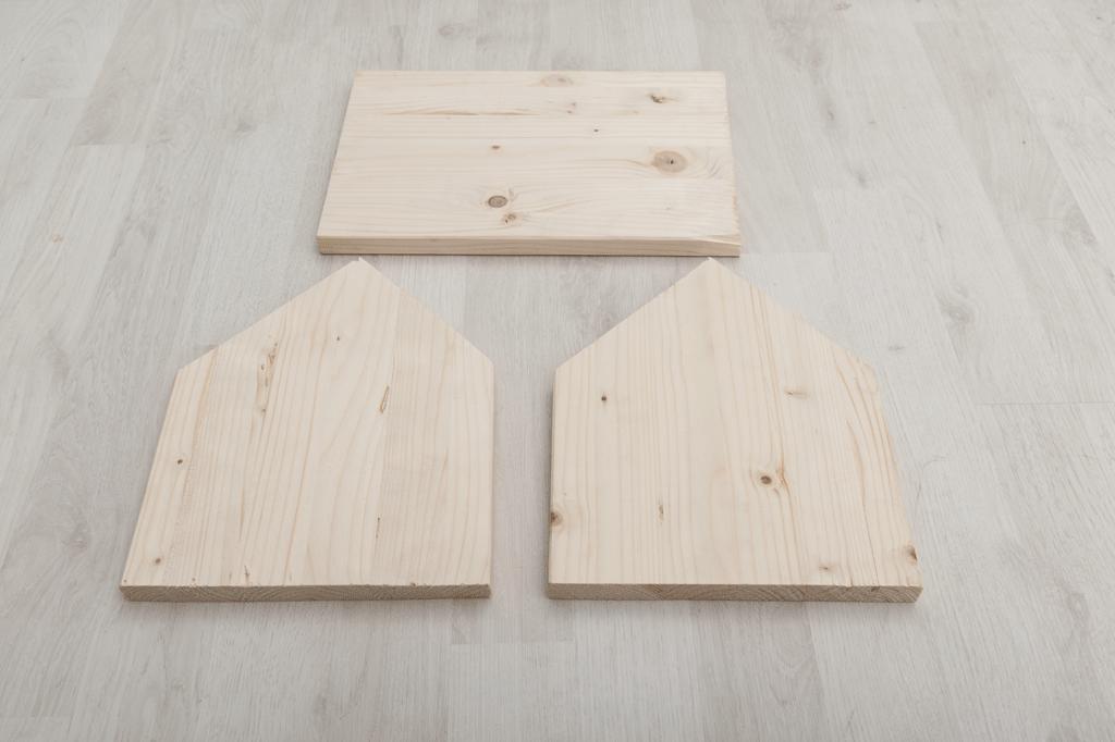 Cuttig the boards