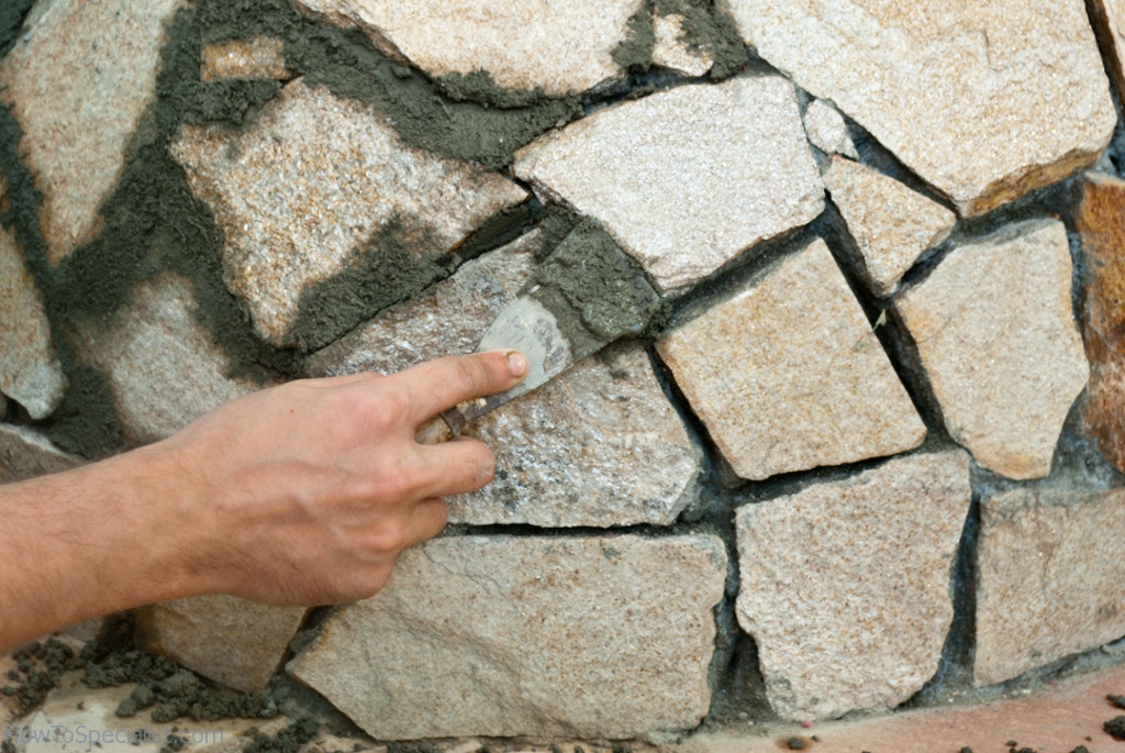 Filling the gaps between the stone