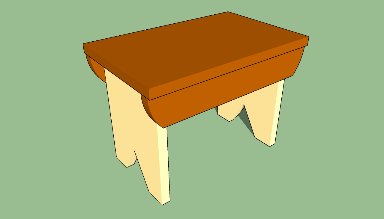 plans to make a stool