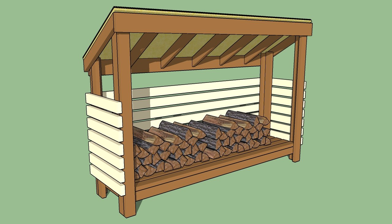 Build Wood Shed Plans