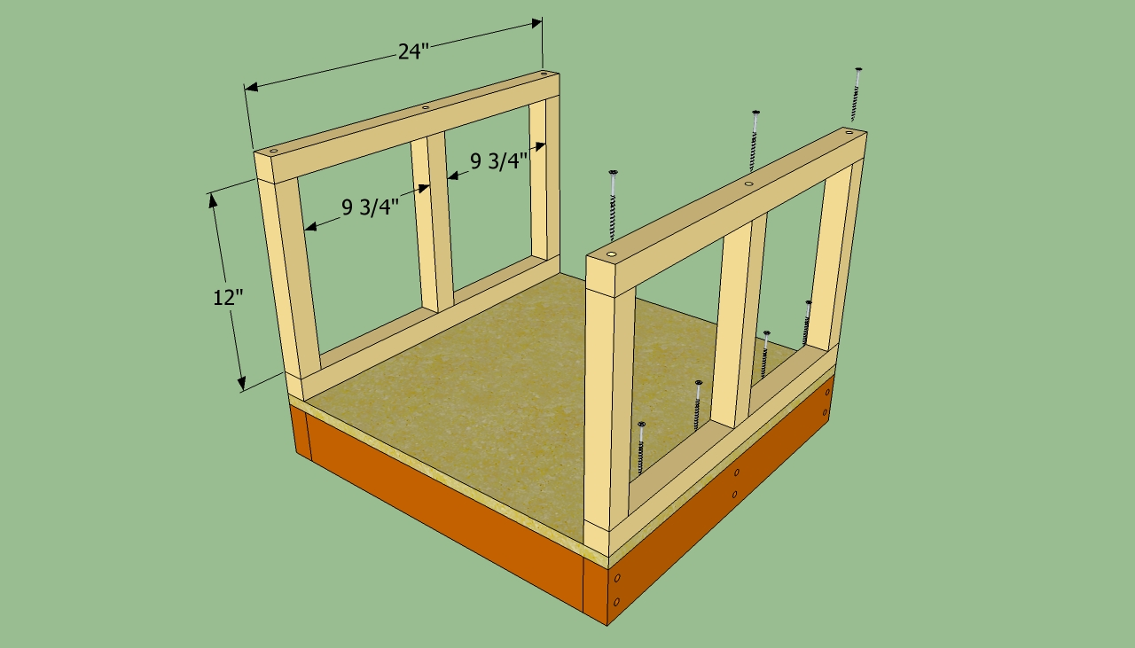 How to build a small dog house howtospecialist how to for Steps on building a house