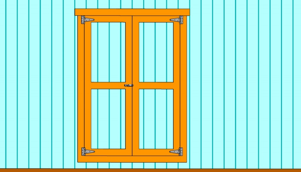 How To Build Double Shed Doors Howtospecialist How To