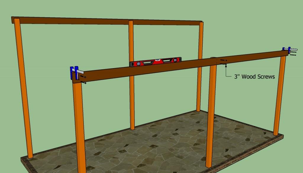 Free rv carport plans wood 10