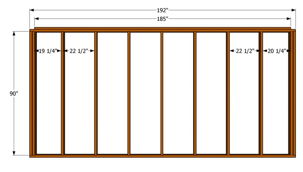 How to build a 12x16 shed howtospecialist how to build for 12x16 deck plans