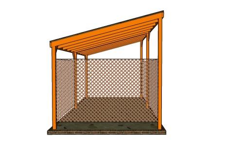 Building a lwan to carport