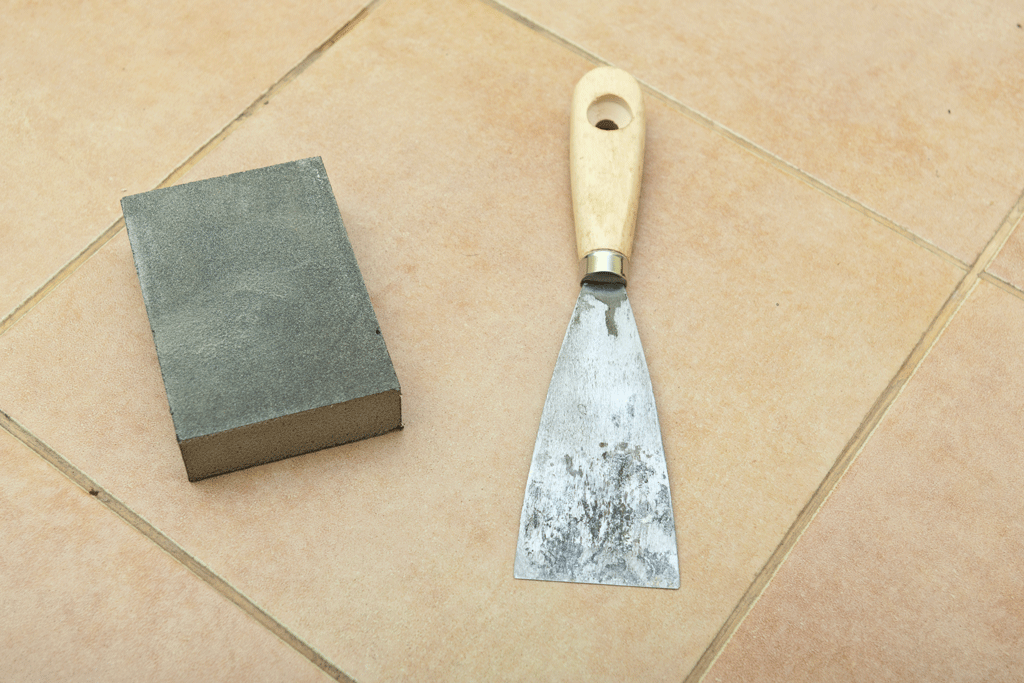 How to remove grout from tiles