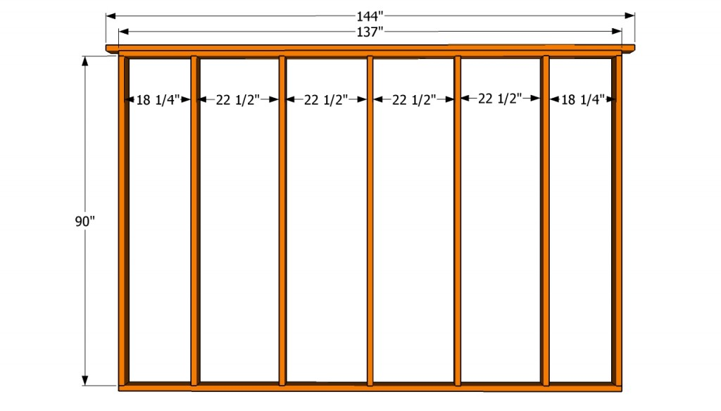 How to build a 12x16 shed howtospecialist how to build for Shed plans and material list