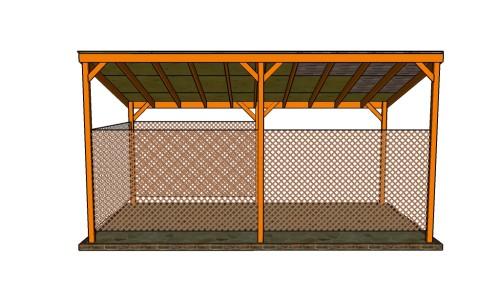 Single car carport