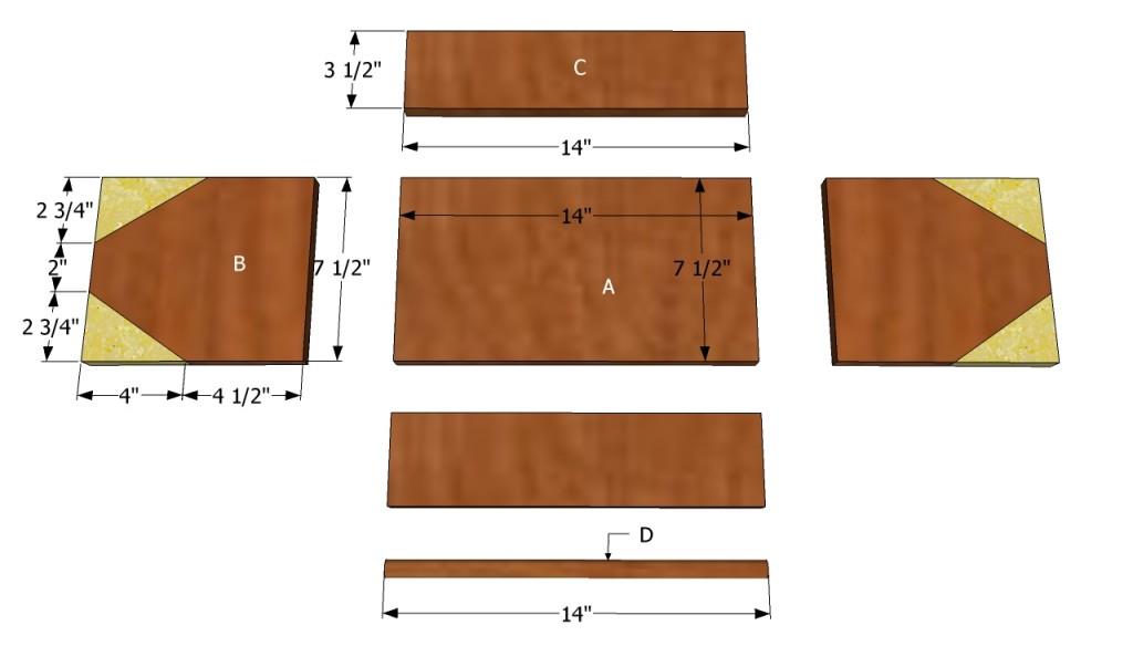 Tool box components