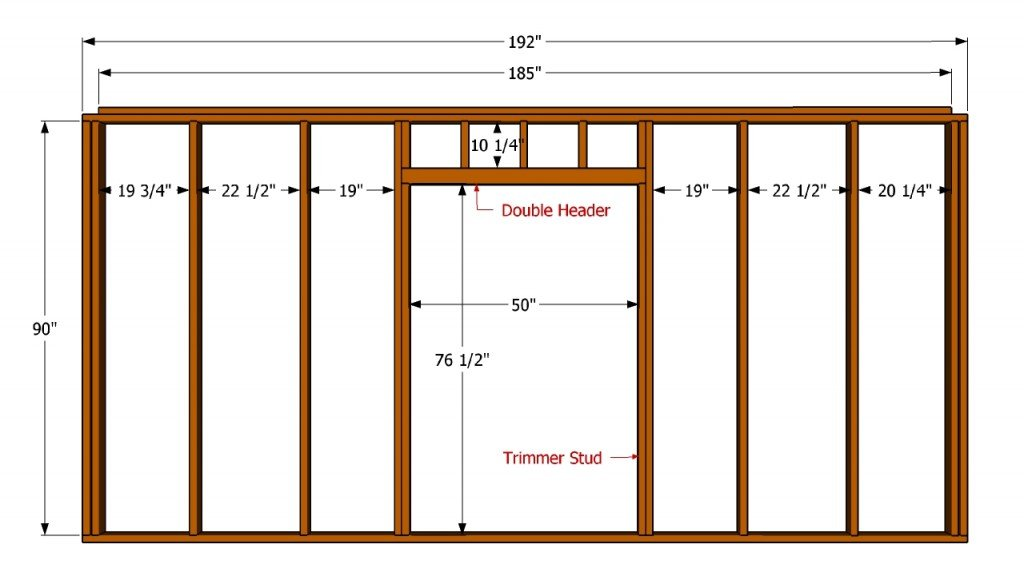 How To Build A 12x16 Shed HowToSpecialist