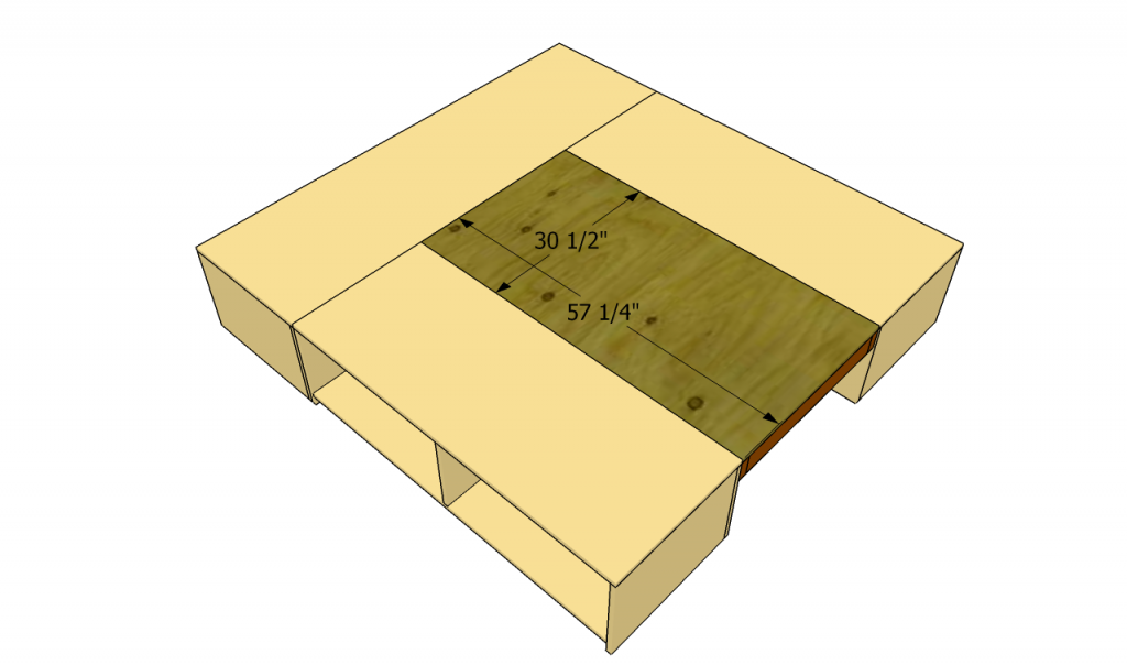 Attaching plywood