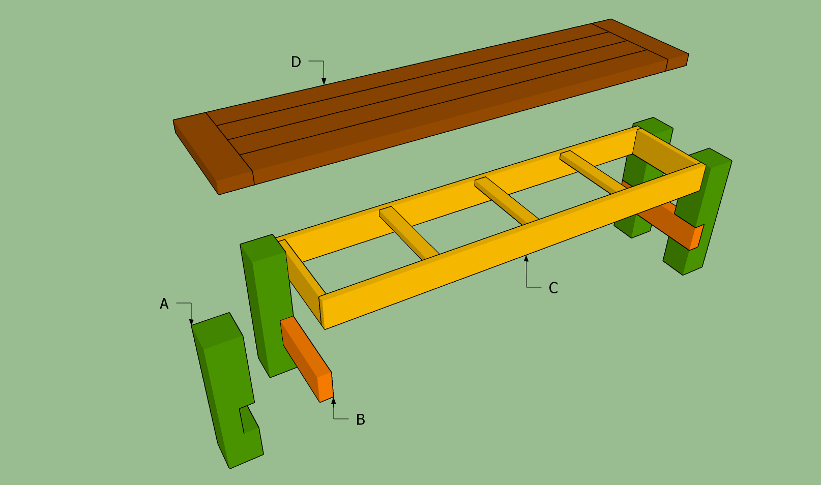 plans for building a storage bench seat | Woodworking Magazine Online
