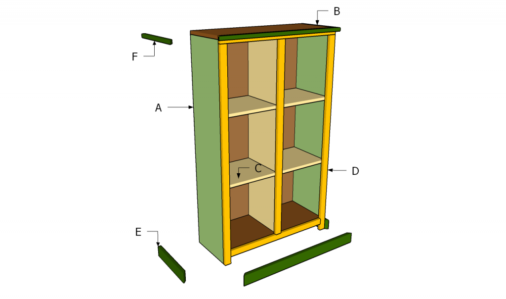 Building Wood Bookshelf | Woodworking Plans