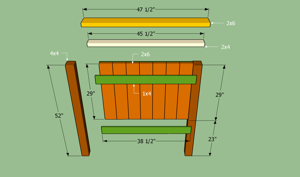 twin headboard design plans