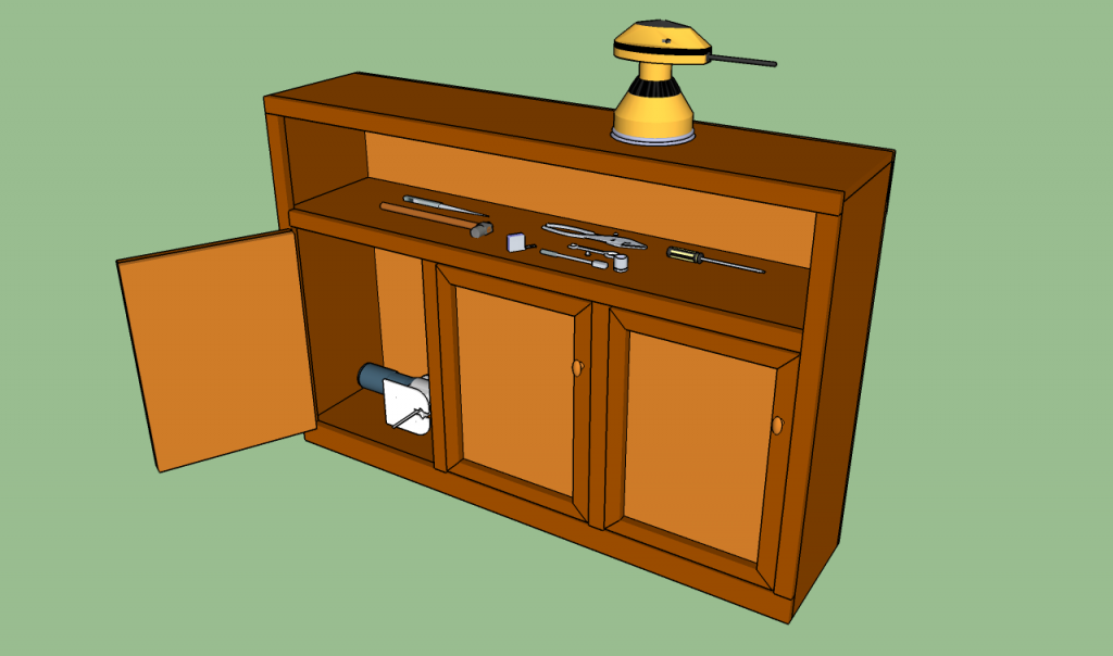 How to build garage cabinets howtospecialist how to for Building kitchen cabinets in place