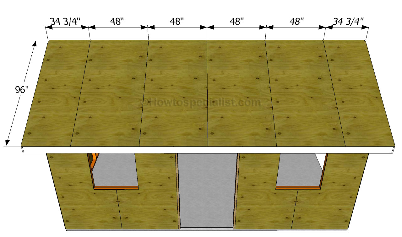 How To Build A Garage Roof Pictures to pin on Pinterest