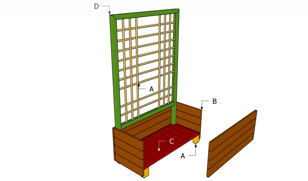 How to make a flower box howtospecialist how to build for How to build box steps