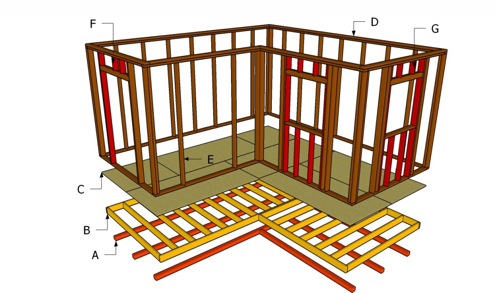 How to build a workshop howtospecialist how to build for Outdoor workshop plans