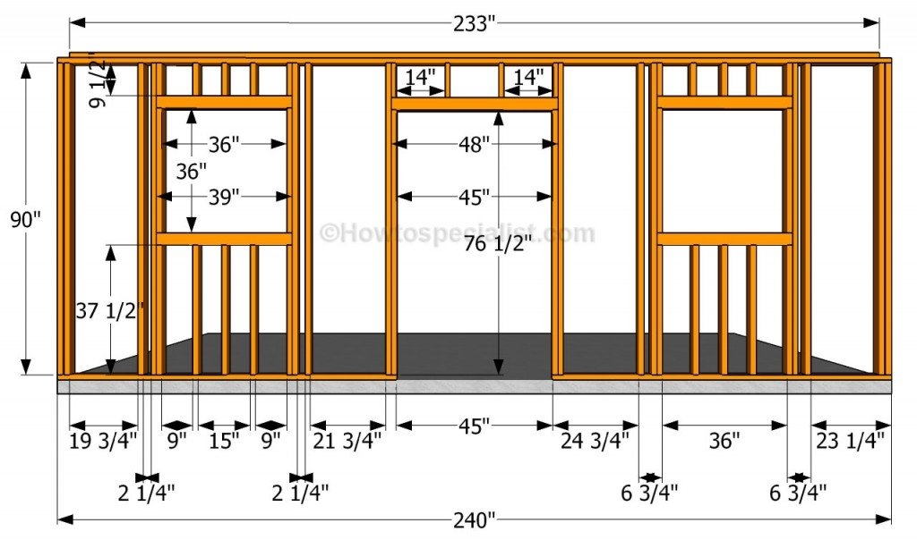 How to build a detached garage howtospecialist how to for How to build a house step by step