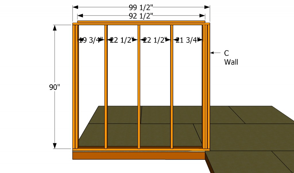 C wall plans