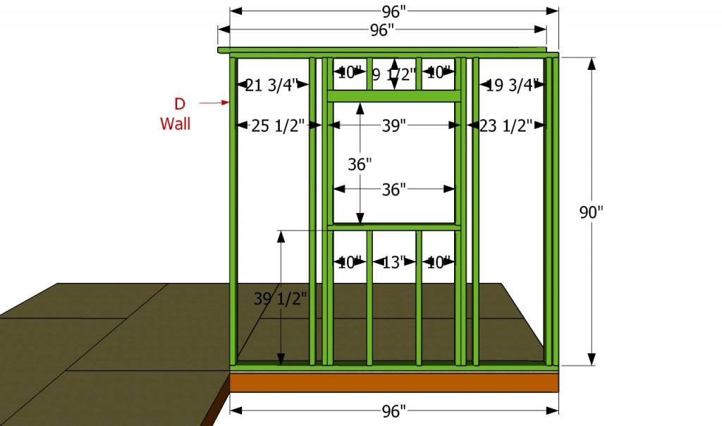 D wall plans