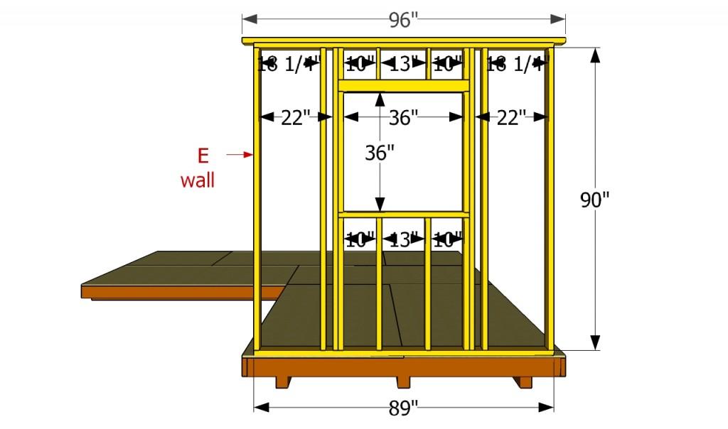 E wall plans