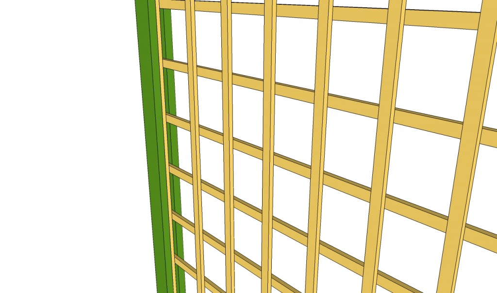 Fitting the trellis inside the channels
