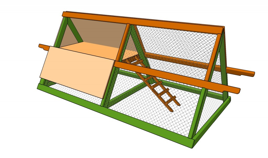 How to build a simple chicken coop howtospecialist how for How to build a chicken hutch