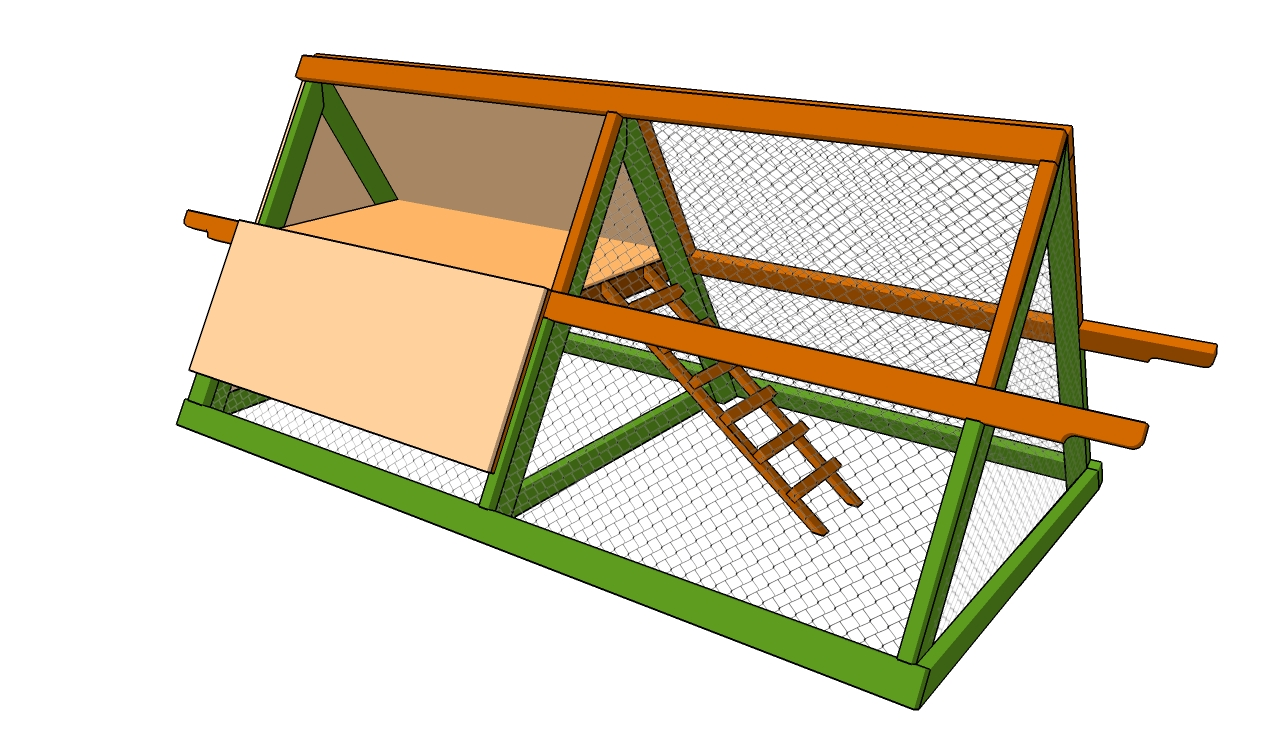 How to build a simple chicken coop