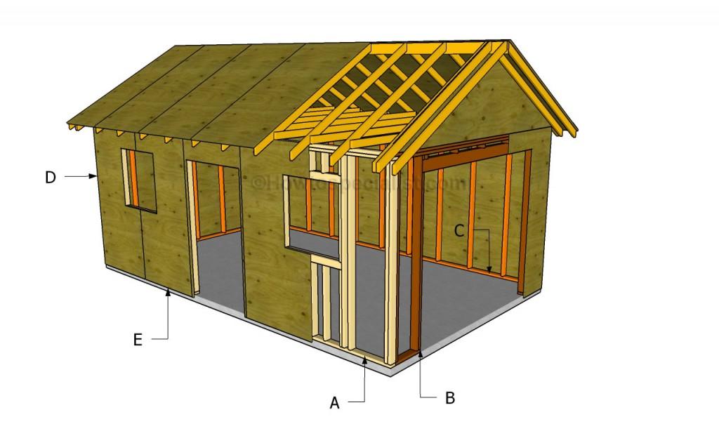 Building a detached garage