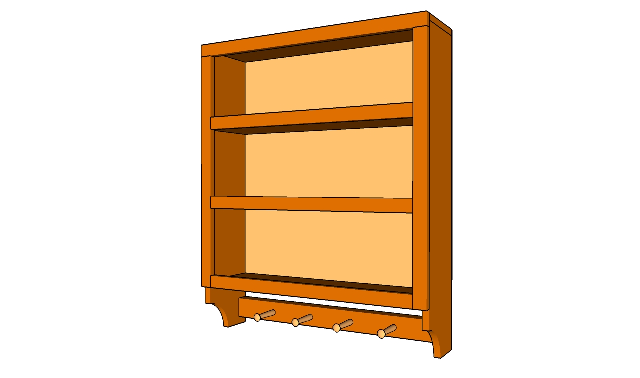 How to build kitchen shelves