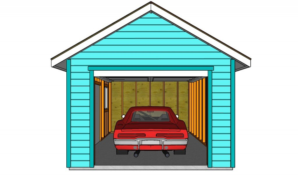 How to finish a garage