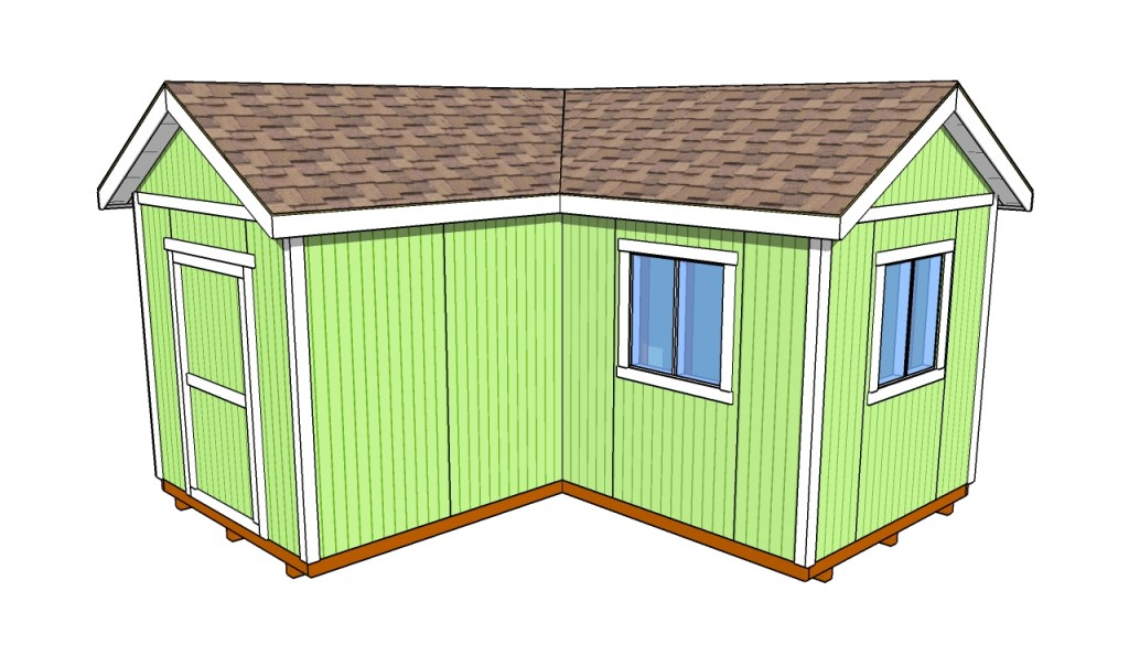 How to install a shed door